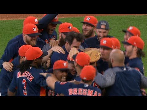 Astros clinch AL West division title in 2017