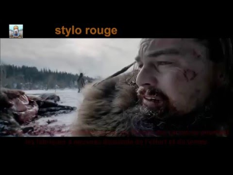 Stylo rouge : the revenant goofs mistakes faux raccords