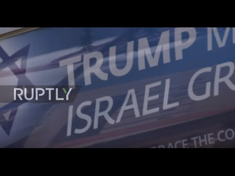 Israel: High security as final preparations made for Trump's visit to Jerusalem