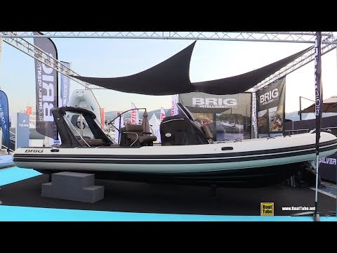 2019 Brig Eagle 780 N Inflatable Boat - Walkaround - 2018 Cannes Yachting Festival
