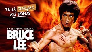 Las 3 Mejores Peliculas De Bruce Lee | #TeLoResumo