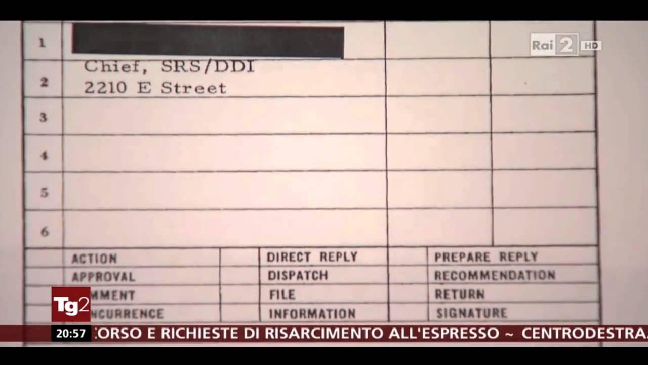 Rivelazioni al TG2 su Adriano Olivetti: fu spiato per dieci anni dalla CIA