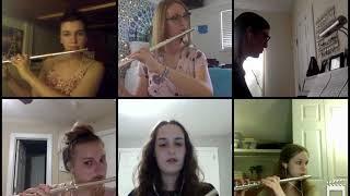 """""""Trillium"""" from """"Floris"""" for flute quartet and piano"""