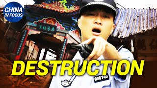 China begins a new round of destruction; German citizen recounts horrifying 7-yr prison in China