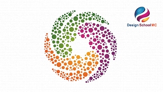 Adobe illustrator CC Tutorial - How to Create Circle Logo Design With Quick and Simple Technique