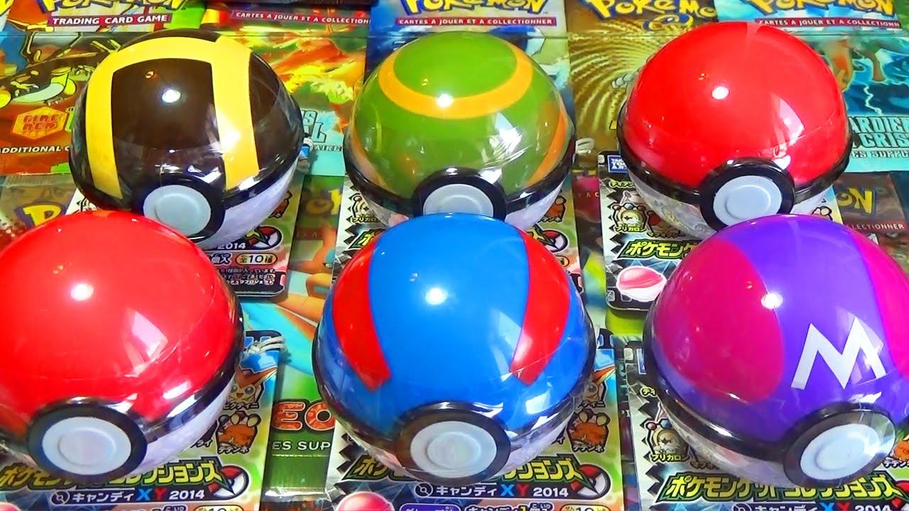 Ouverture de 6 pokeball pokemon toy chance legendaire - Pokemon legendaire pokemon y ...