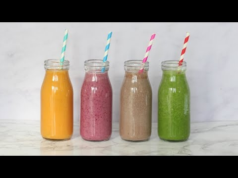 Four Healthy Smoothies For Kids | Ad