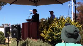 Daryl Maguire opens Henty Field Days 2014