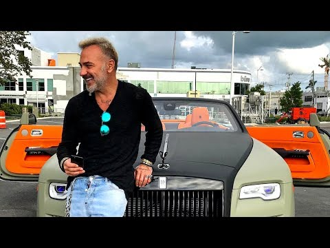 Gianluca Vacchi Car Collection 2019