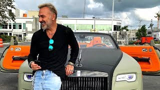 Gianluca vacchi car collection 2019