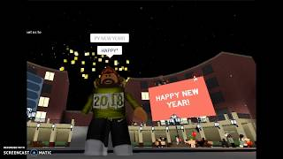 ROBLOX | Happy New Year 2018!