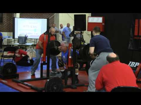 IRON BOY POWERLIFTING: Randy McMillan