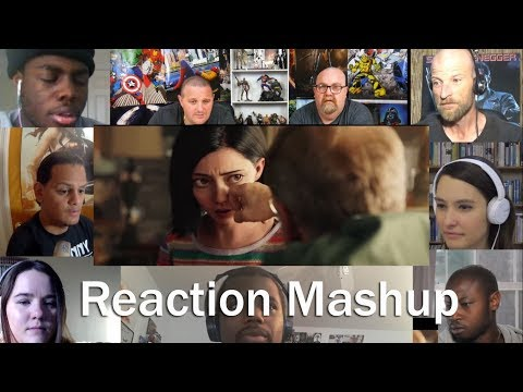 Alita  Battle Angel   Official Trailer REACTION MASHUP