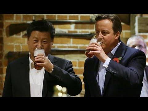 Xi Jinping and David Cameron's Pub Stop