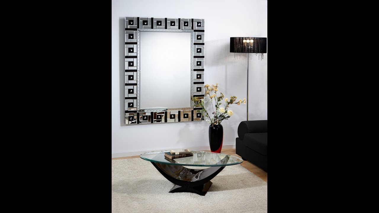 miroirs de dcoration design eden deco youtube - Miroir Design