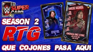 QUE COJONES PASA AQUI ? | ROAD TO GLORY NAKAMURA | WWE SUPERCARD S2 | Chorly