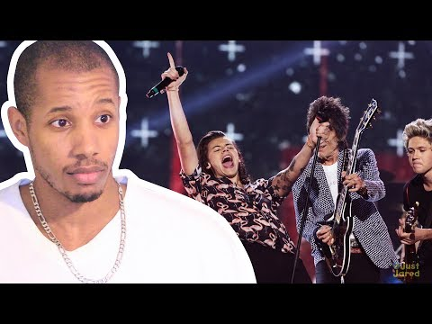 ONE DIRECTION & RONNIE WOOD X FACTOR UK FINAL 2014 WHERE DO BROKEN HEARTS GO REACTION