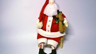 Мастер-класс Дед Мороз Тильда/Master class Santa Claus Tilda