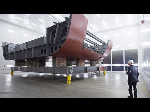 A look inside the new Irving Shipbuilding facility in Halifa