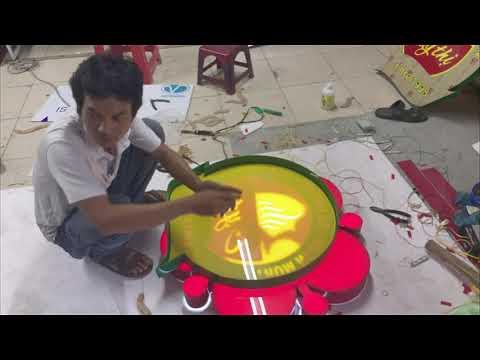 hộp đèn led mica – Xưởng thi công bảng hiệu, Hộp đèn Mica Uy tín HCM