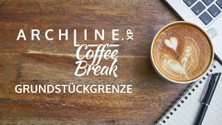 ARCHLine.XP - Die CAD + BIM Software Coffe Break Grundstückgrenze