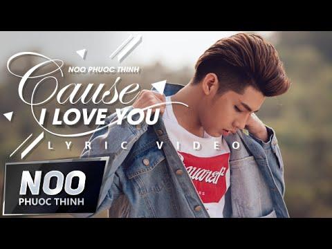 Cause I Love You | Noo Phước Thịnh | Lyric Video