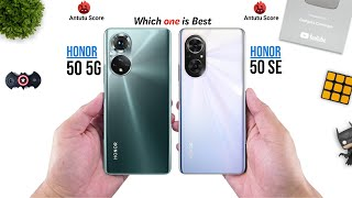 Honor 50 vs Honor 50 SE || Full Comparison ⚡ Which one is Best.