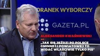 Poranek powyborczy Gazeta.pl - Rozmowa z Aleksandrem Kwaśniewskim