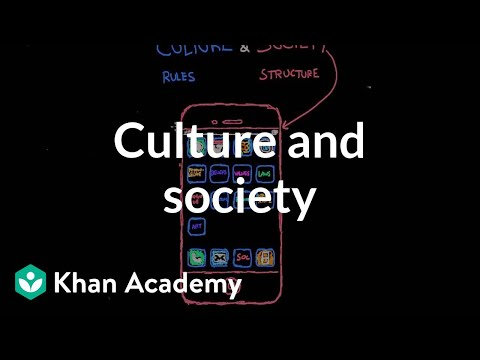 Culture and society | Society and Culture | MCAT | Khan Academy
