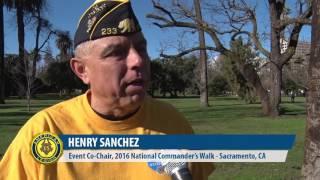 American Legion Awareness Walk in Sacramento, Calif.