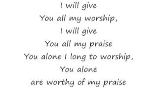 Watch Lauren Evans Youre Worthy Of My Praise video