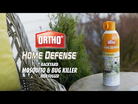 How To Use Ortho Home Defense Backyard Mosquito Bug Area Fogger