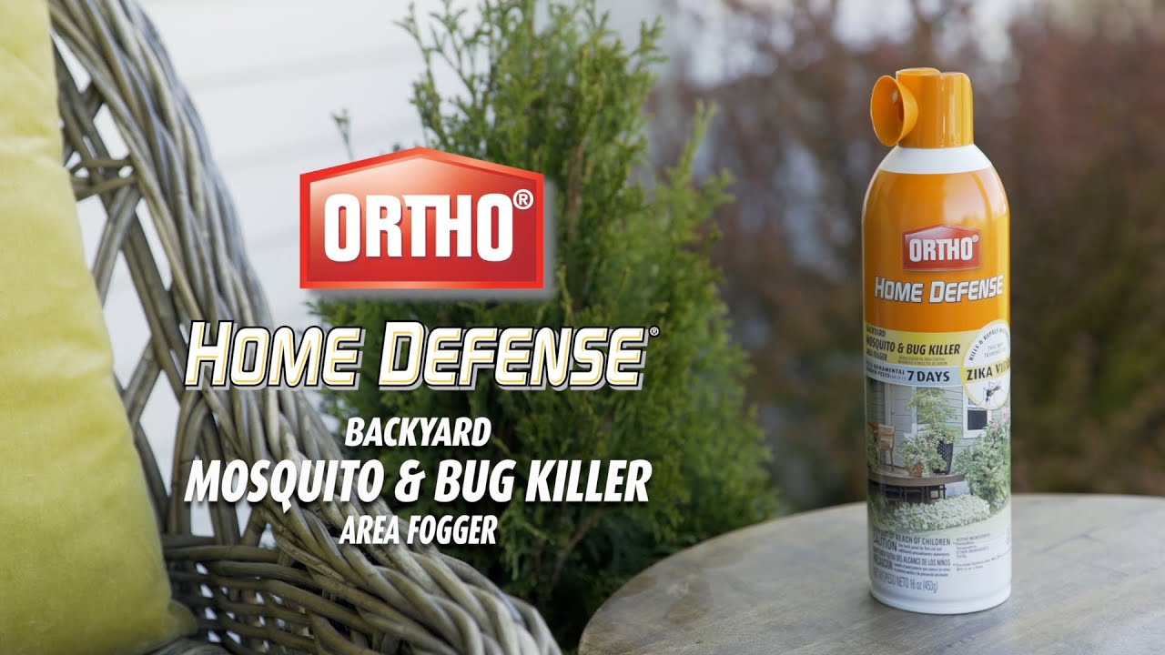 How to Kill Mosquitoes Using Ortho® Home Defense® Backyard ...