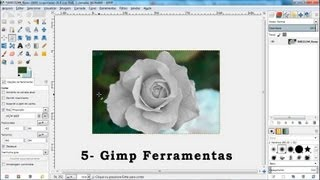 Tutorial Gimp - Video aula 05 - Ferramentas do Gimp
