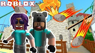 SURVIVING A METEOR SHOWER! | ROBLOX w/ Thinknoodles