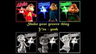 Chipmunk & Chipettes - Shake your groove thing