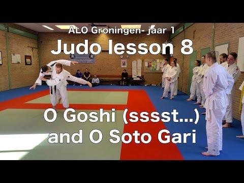 Judo lesson 8: O Goshi (ssst..) and O Soto Gari