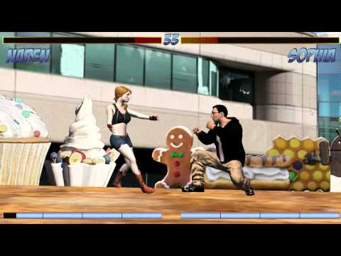 Google Office Fight Scene - Blokstok Street Fight Madness
