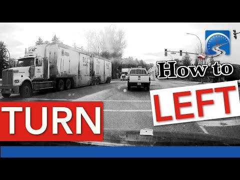 How to Turn Left At Complex Intersections | Pass A Road Test Smart