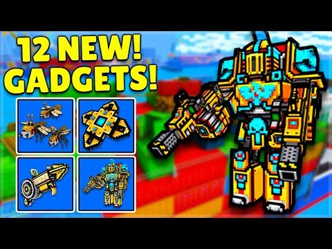 OMG! They Added 12 NEW GADGETS In 17.5.0 UPDATE   Pixel Gun 3D