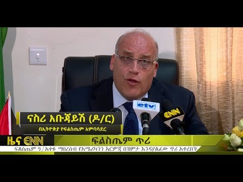 Ethiopia: Palestine Ambassador labels US embassy move ''colonial settlement'' - ENN News