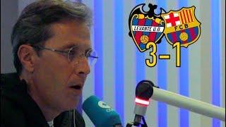 Levante 3-1 Barcelona | Así se vivió en Tiempo de Juego COPE