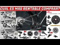 Gambar cover QUE GRUPOS SON MAS RENTABLES DE SRAM Y SHIMANO DE 1X10,1X11 Y 1X12