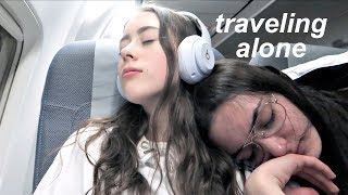 Traveling alone for the first time...