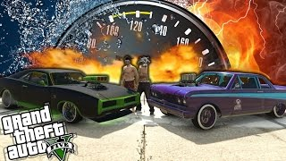 GTA V Online - Test de Velocidad - Nuevo Imponte Dukes Vs Vapid Blade - Vehículos GTA 5