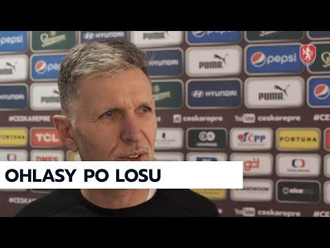 ČR A | Jaroslav Šilhavý a Martin Malík po losu kvalifikace MS 2022