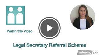 Legal Secretary Referral Scheme