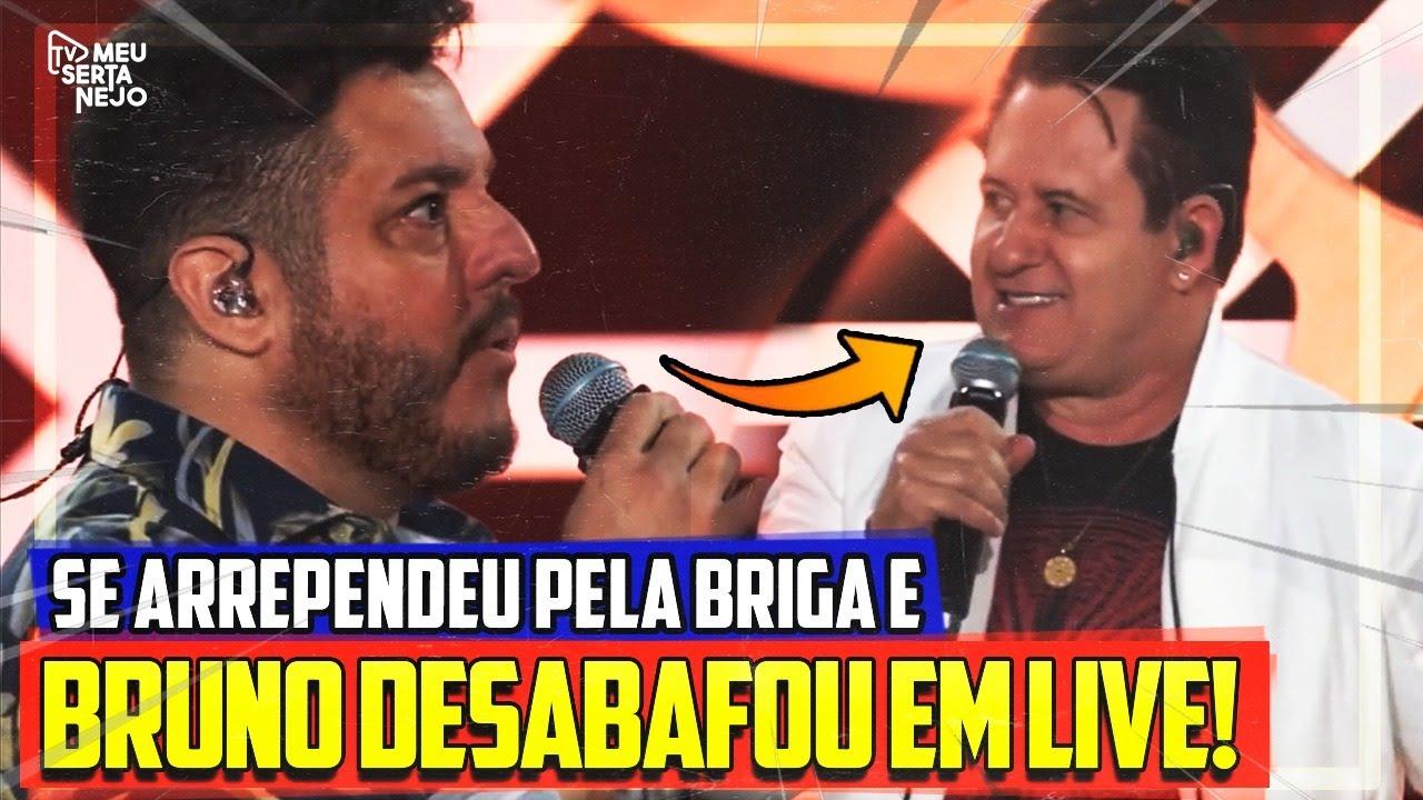 """BRUNO DESABAFA e pede DESCULPAS a MARRONE e público critica """"ABANDONO em LIVE""""!"""