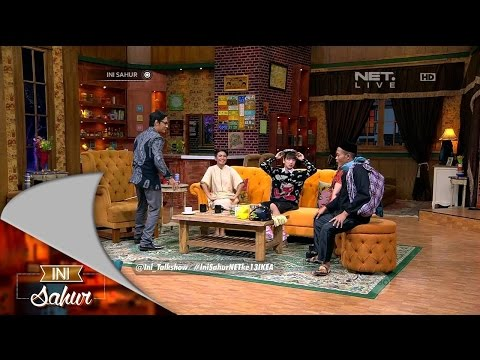 Ini Sahur 30 Juni 2015 Part 1/6 - Ginindra Kara, Taufiq Saini & The Changcuters