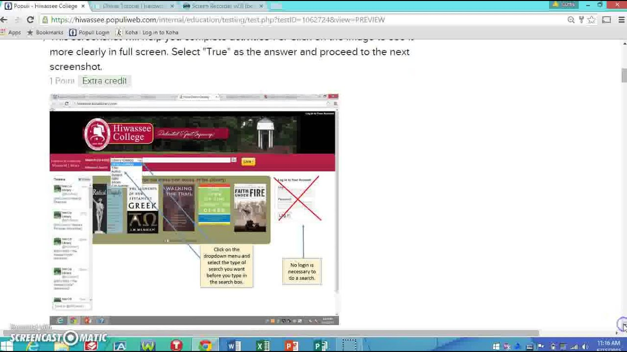 Finding A Book Populi Tutorial Youtube